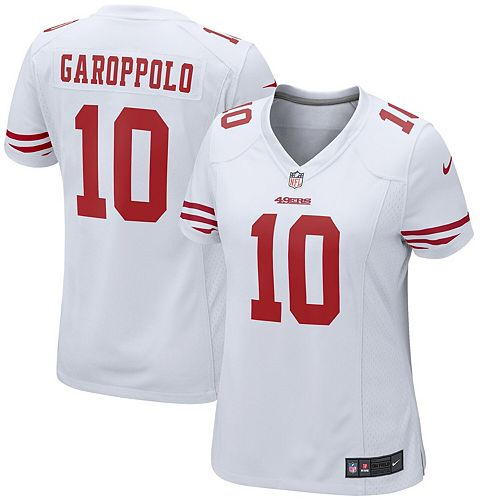 Women's Nike Jimmy Garoppolo White San Francisco 49ers Game Jersey-