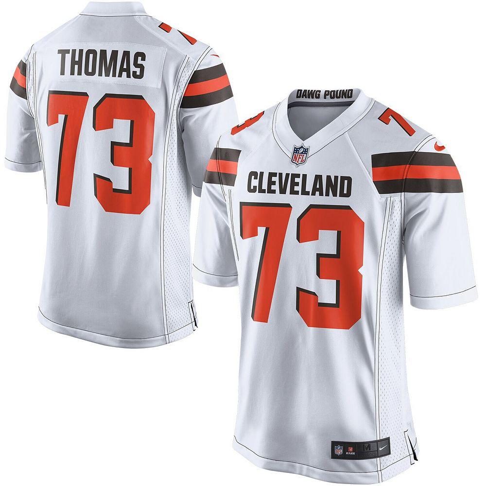 Youth Nike Joe Thomas White Cleveland Browns Game Jersey