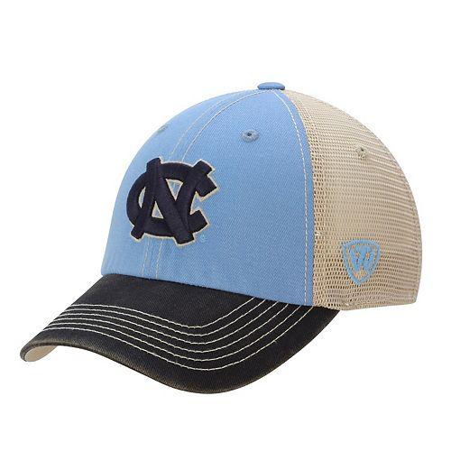 North Carolina Tar Heels Top of the World Offroad Trucker Adjustable Hat - Carolina Blue
