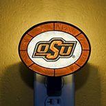Oklahoma State Cowboys Hand-Painted Glass Nightlight