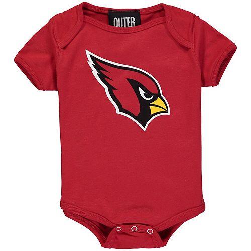 Newborn Cardinal Arizona Cardinals Team Logo Bodysuit
