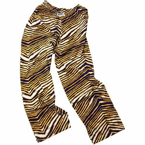 Los Angeles Chargers Zubaz Pants - Navy Blue/Gold