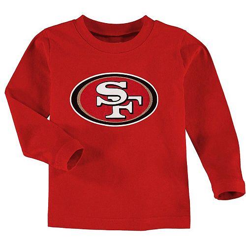 San Francisco 49ers Toddler Team Logo Long Sleeve T-Shirt - Scarlet