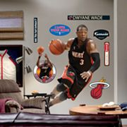 Fathead Miami Heat Dwyane Wade Drives Wall Decal