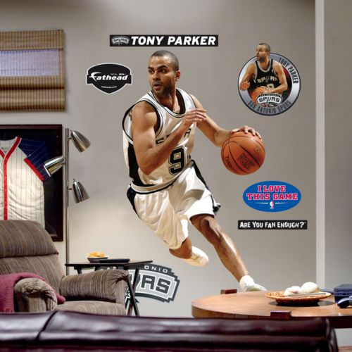 Fathead San Antonio Spurs Tony Parker Wall Decal