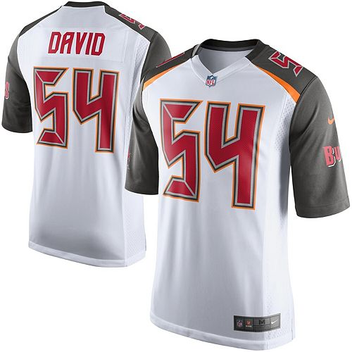 Youth Tampa Bay Buccaneers Lavonte David Nike White Game Jersey