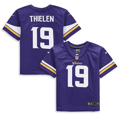 big sale d39dd f4387 Preschool Nike Adam Thielen Purple Minnesota Vikings Player Game Jersey