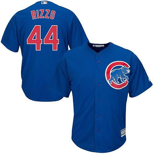 Youth Anthony Rizzo Royal Chicago Cubs Official Cool Base Player Jersey