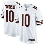 Youth Nike Mitchell Trubisky White Chicago Bears Game Jersey