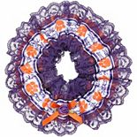 Clemson Tigers Women's Double Lace Garter