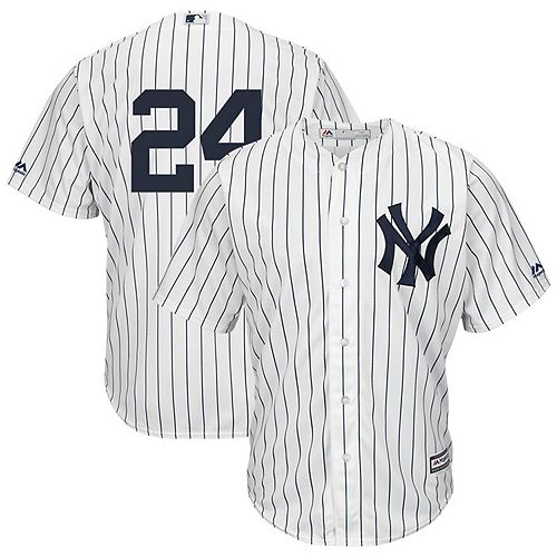 Men's Majestic Gary Sanchez White New York Yankees Cool Base Player Replica Jersey