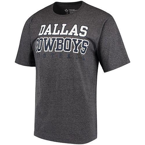 Men's Charcoal Dallas Cowboys Practice T-Shirt