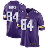 Men's Nike Randy Moss Purple Minnesota Vikings Retired Player Game Jersey