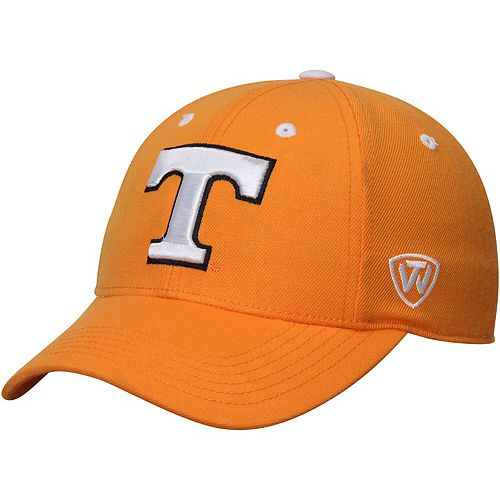 Men's Top of the World Tennessee Orange Tennessee Volunteers Dynasty Memory Fit Fitted Hat