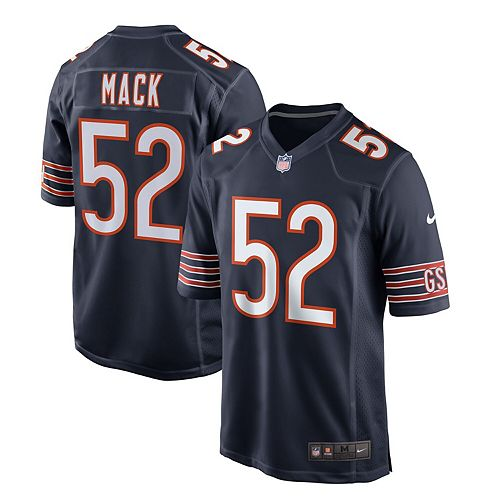 Youth Nike Khalil Mack Navy Chicago Bears Game Jersey