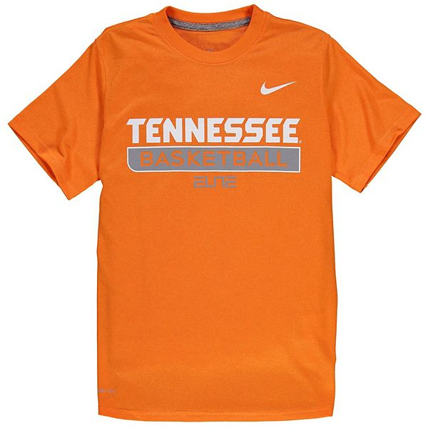 Youth Nike Tennessee Orange Tennessee Volunteers Basketball ...