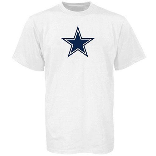 Dallas Cowboys White Logo Premier T-shirt