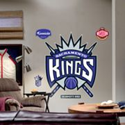 Fathead Sacramento Kings Logo Wall Decal