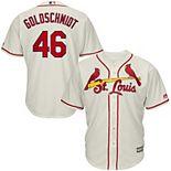 Men's Majestic Paul Goldschmidt Cream St. Louis Cardinals Alternate Official Cool Base Player Jersey