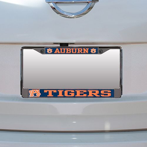 Auburn Tigers Small Over Large Mega License Plate Frame