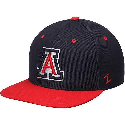 Men's Zephyr Navy Arizona Wildcats Z11 Snapback Adjustable Hat