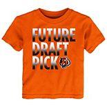 Preschool Orange Cincinnati Bengals Future Draft Pick T-Shirt