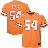 Youth Nike Lavonte David Orange Tampa Bay Buccaneers Game Jersey