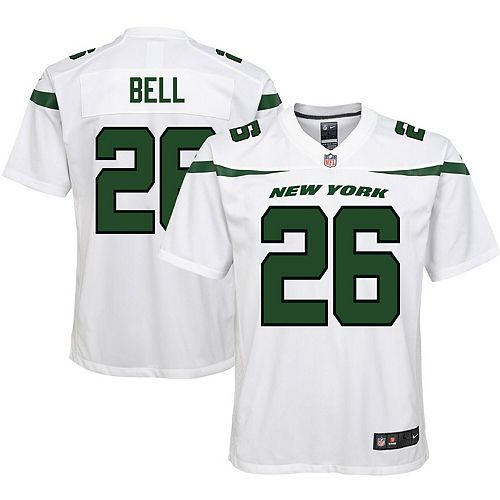 Youth Nike Le'Veon Bell Spotlight White New York Jets Game Jersey