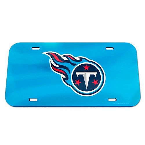 WinCraft Tennessee Titans Logo Crystal Mirror License Plate