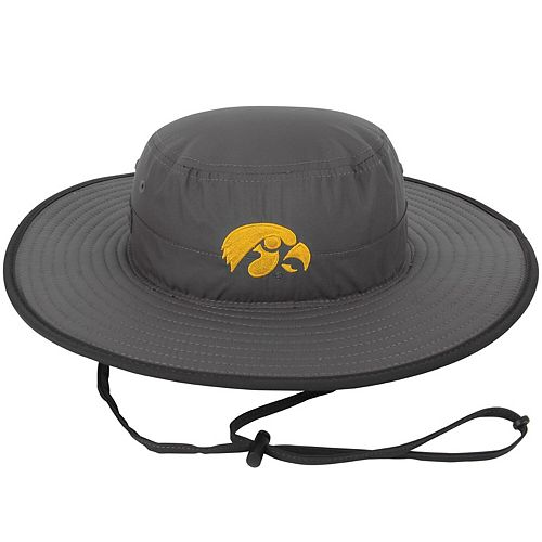Men's Top of the World Charcoal Iowa Hawkeyes Chili Dip Boonie Bucket Hat