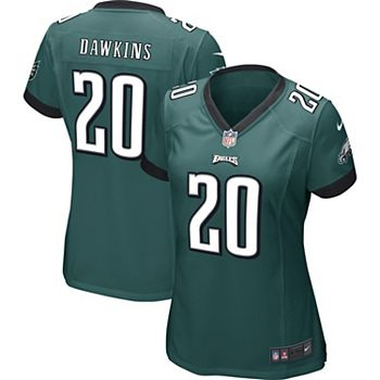 low priced 1d890 22e13 Women's Philadelphia Eagles Brian Dawkins Nike Midnight Green Game Jersey