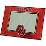 Oklahoma Sooners Horizontal Art Glass Frame
