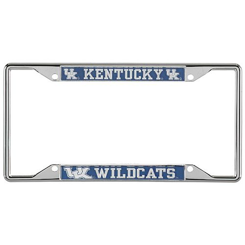 Kentucky Wildcats Small Over Small Mega License Plate Frame