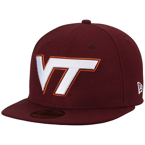 Men's New Era Maroon Virginia Tech Hokies Basic 59FIFTY Fitted Hat