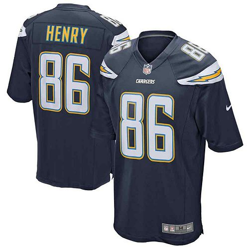 Youth Nike Hunter Henry College Navy Los Angeles Chargers Game Jersey