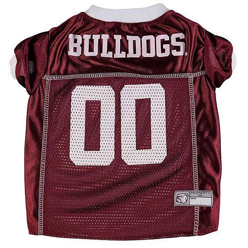 Mississippi State Bulldogs Mesh Dog Football Jersey