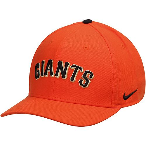 Men's Nike Orange San Francisco Giants Classic Swoosh Performance Flex Hat