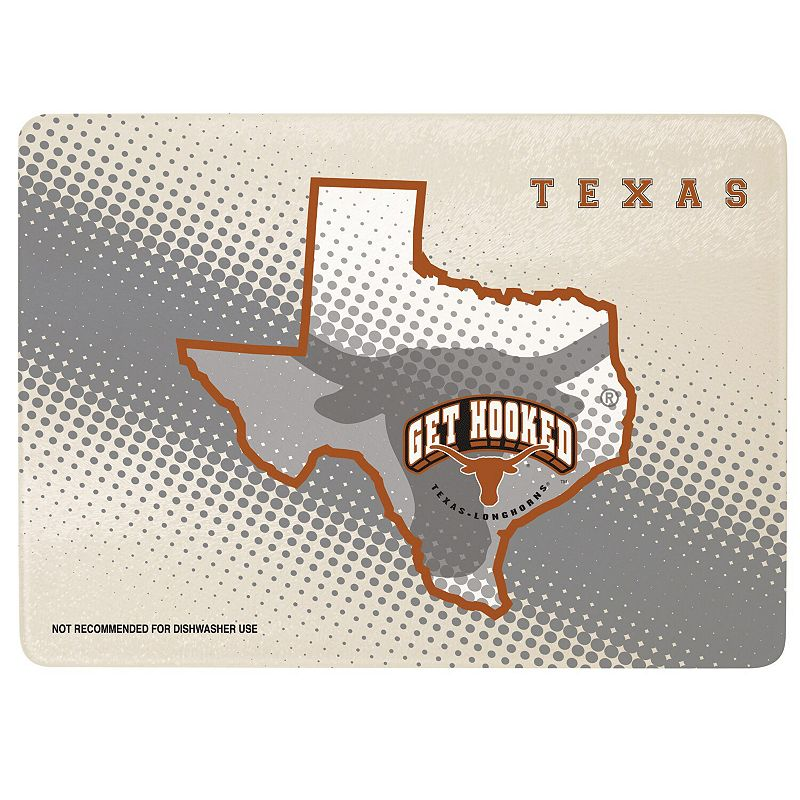 """Texas Longhorns 8"""" x 11.75"""" State of Mind Cutting board"""