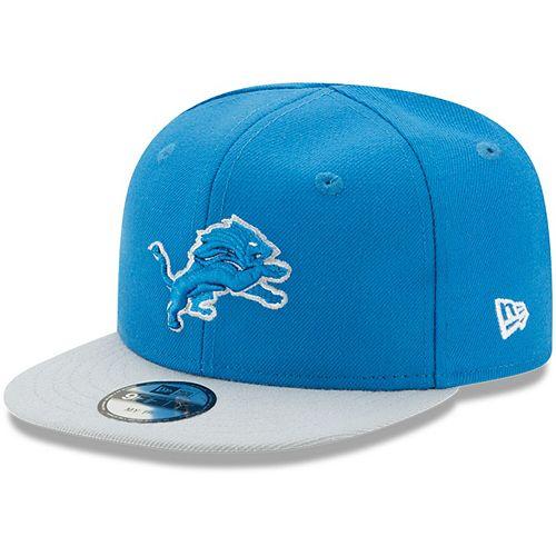 Infant New Era Blue/Silver Detroit Lions My 1st 9FIFTY Adjustable Hat
