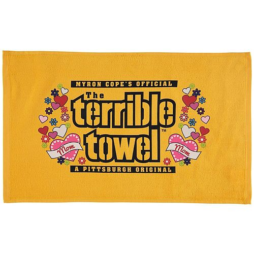 "Pittsburgh Steelers 25.25"" x 15"" Mother's Day Terrible Towel"