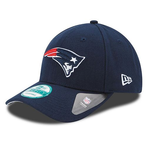 Youth New Era Navy New England Patriots League 9FORTY Adjustable Hat