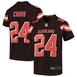 Nick Chubb Cleveland Browns Nike Youth Game Jersey - Brown