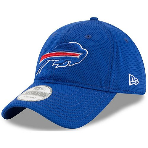 Men's New Era Royal Buffalo Bills Perf Shore Training Mesh 9TWENTY Adjustable Hat