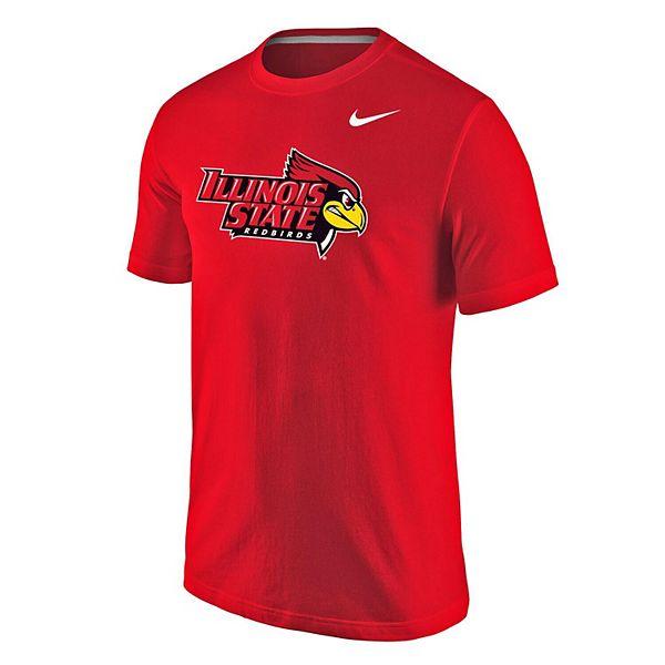 Men's Nike Red Illinois State Redbirds Big Logo T-Shirt