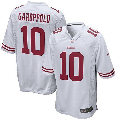 Youth Nike Jimmy Garoppolo White San Francisco 49ers Player Game Jersey