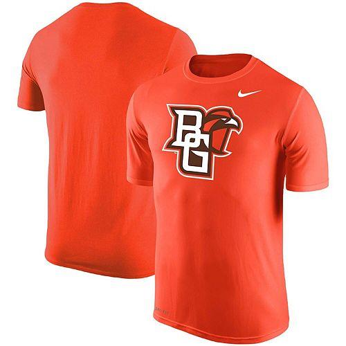detailing 1bab7 d0df3 Men's Nike Orange Bowling Green St. Falcons Big Logo T-Shirt