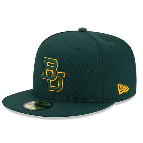 Men's New Era Green Baylor Bears Basic 59FIFTY Fitted Hat