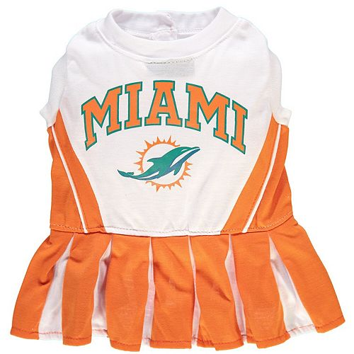 Miami Dolphins Cheerleader Pet Outfit