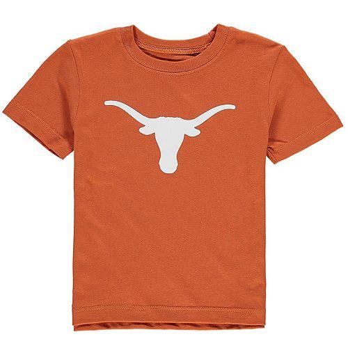 Infant Texas Orange Texas Longhorns Silhouette T-Shirt