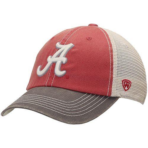Alabama Crimson Tide Top of the World Offroad Trucker Adjustable Hat - Crimson